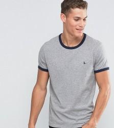 Jack Wills Ringer T-Shirt In Regular Fit In Grey Exclusive - Grey