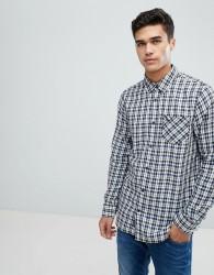 Jack Wills Salcombe Lightweight Flannel Check Shirt - Multi
