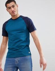 Jack Wills Verwood Raglan T-Shirt in Navy - Navy
