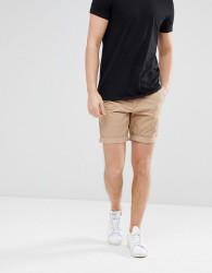Jack Wills Widmore Chino Shorts In Sand - Tan
