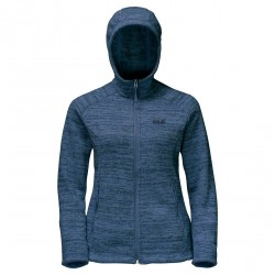 Jack Wolfskin Aquila Hooded Jacket - Damefleece m/hætte