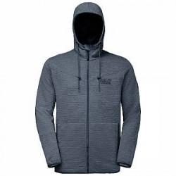 Jack Wolfskin Tongari Hooded Jacket - Herrefleece m/hætte