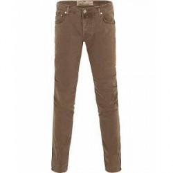 Jacob Cohën Jacob Cohen 622 Slim Fit 5-Pocket Trousers Light Brown