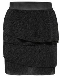 Jacqueline de Yong Emsy skirt (SORT, M)