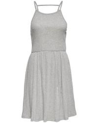 Jacqueline de Yong Gummybear s/l dress (LYSEGRÅ, XL)