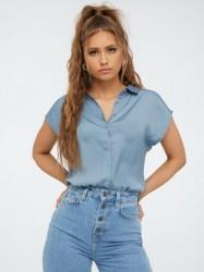 Jacqueline de Yong Jdysheela S/S Shirt Wvn Hverdagsbluser