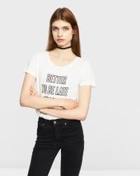 JACQUELINE de YONG Marble T-shirt
