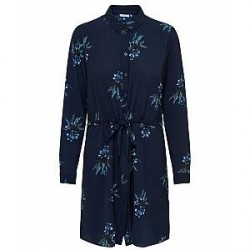 Jacqueline de Yong Run L/S shirt Dress wvn (MØRKEBLÅ, 36)