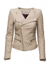 Jade Quilted Leather Jacket