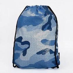 Jaded London Gym Bag - Camo Drawstring