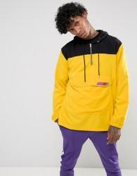 Jaded London Overhead Windbreaker Jacket In Yellow - Yellow