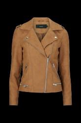 Jakke vmWorld Short Faux Leather Jacket