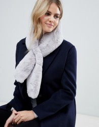 Jayley faux fur scarf - Grey
