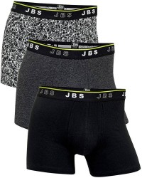 JBS Undertøj JBS 3-Pak Tights Sort/Gul/Grå/Hvid 1050 49 404