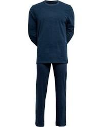 JBS Undertøj JBS Fuld Blå Pyjamas med Striber 131 42 1277
