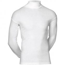 JBS Undertøj JBS - Hvid langærmet trøje med rullekrave - 410 15 01