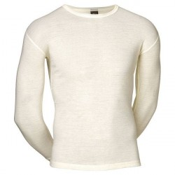 JBS Undertøj JBS Hvid Uld langærmet T-shirt - Til udendørs aktivitet - 993 14 20