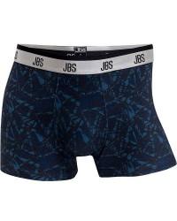 JBS Undertøj JBS Microfiber-Tights i Blå/Sort Mønster 741 51 29