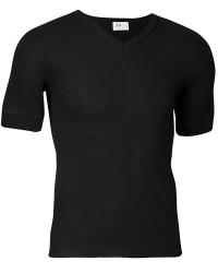 JBS Undertøj JBS T-shirt - BASIC T-Shirt med v hals - Sort - 338 20 09