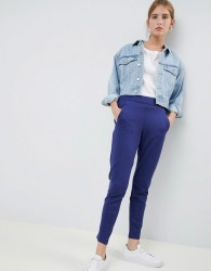 JDY Atomic tapered trousers - Navy