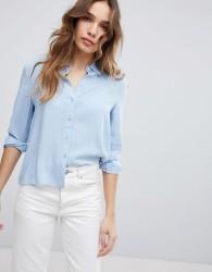 JDY Chambray Shirt - Blue
