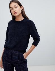 JDY chenile knit jumper - Navy