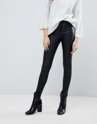 JDY Coated Skinny Jean - Black