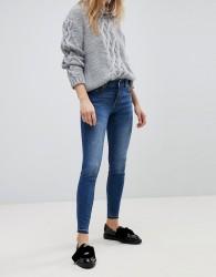 Jdy Dark Wash Skinny Jeans - Blue
