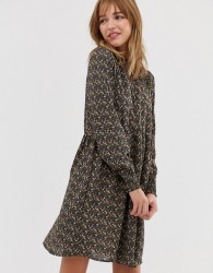 JDY ditsy printed smock dress - Multi