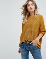 JDY Fine Knitted Jumper - Brown