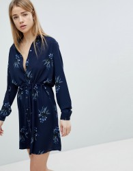 JDY Floral Shirt Dress - Multi