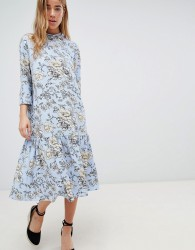 Jdy High Neck Floral Dress - Multi