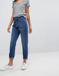 JDY High Waisted Mom Jeans - Blue