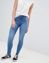 JDY high waisted skinny jean - Blue