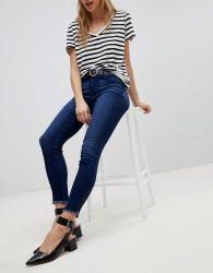 JDY Jeans With Ankle Zip - Blue