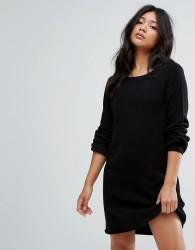 JDY Knitted Jumper Dress - Black