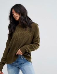 JDY Knitted Jumper - Green