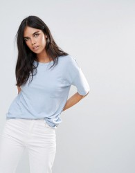 JDY Merle Pocket T-Shirt - Blue