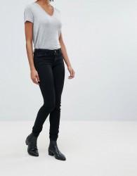 JDY Mid Rise Skinny Jeans - Black