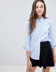 JDY Mio Striped Shirt - Blue