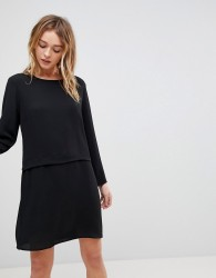 JDY Overlay Dress - Black