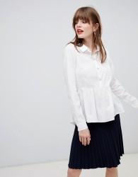 JDY Peplum Shirt - White