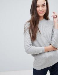JDY Petra Metallic Knit Jumper - Grey