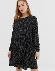 JDY polka dot smock dress - Multi