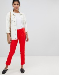 JDY Power tailored trousers - Red