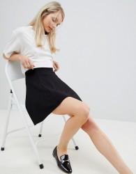 JDY Pretty Skater Skirt - Black