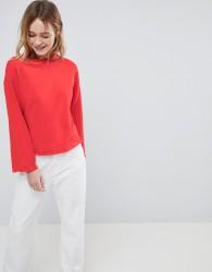 JDY Raglan Sweatshirt - Red