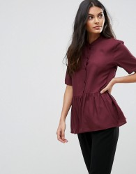 JDY Safinra A-Line Shirt - Red