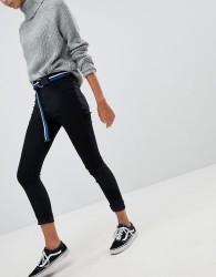 JDY Skinny High Waisted Jeans - Black