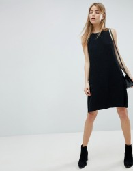 JDY sleeveless mini dress in black - Black